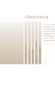 TD Swansburg Website