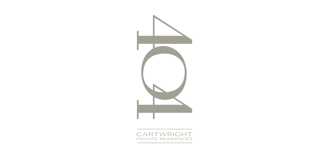 404 Cartwright Private Residences Logo Design