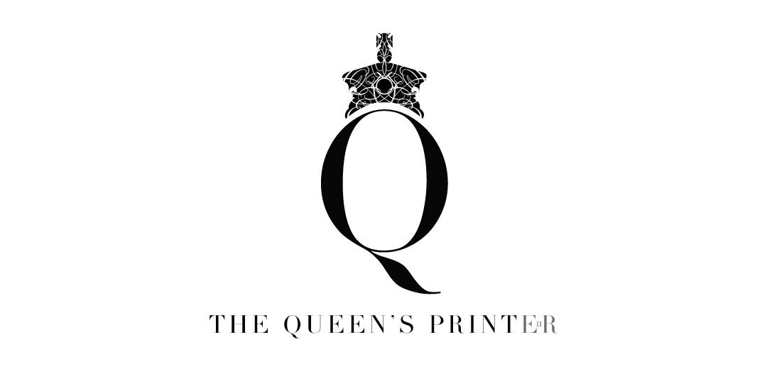 The Queens Printer Logo