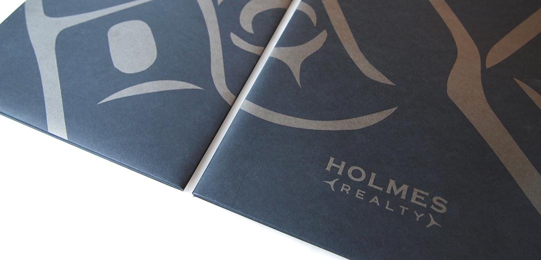 Holmes Realty print materials