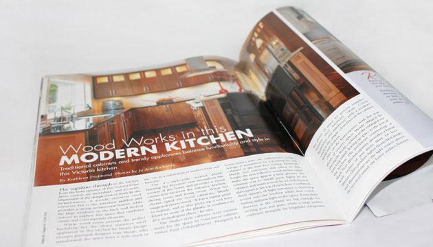 Wood Works in the Modern Kitchen