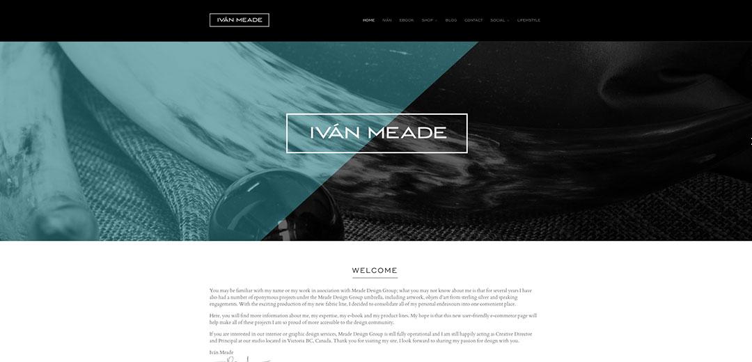 Ivan Meade Website