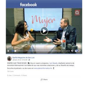 Ivan Meade Live Television Interview on Mujer Vida Y Estilo