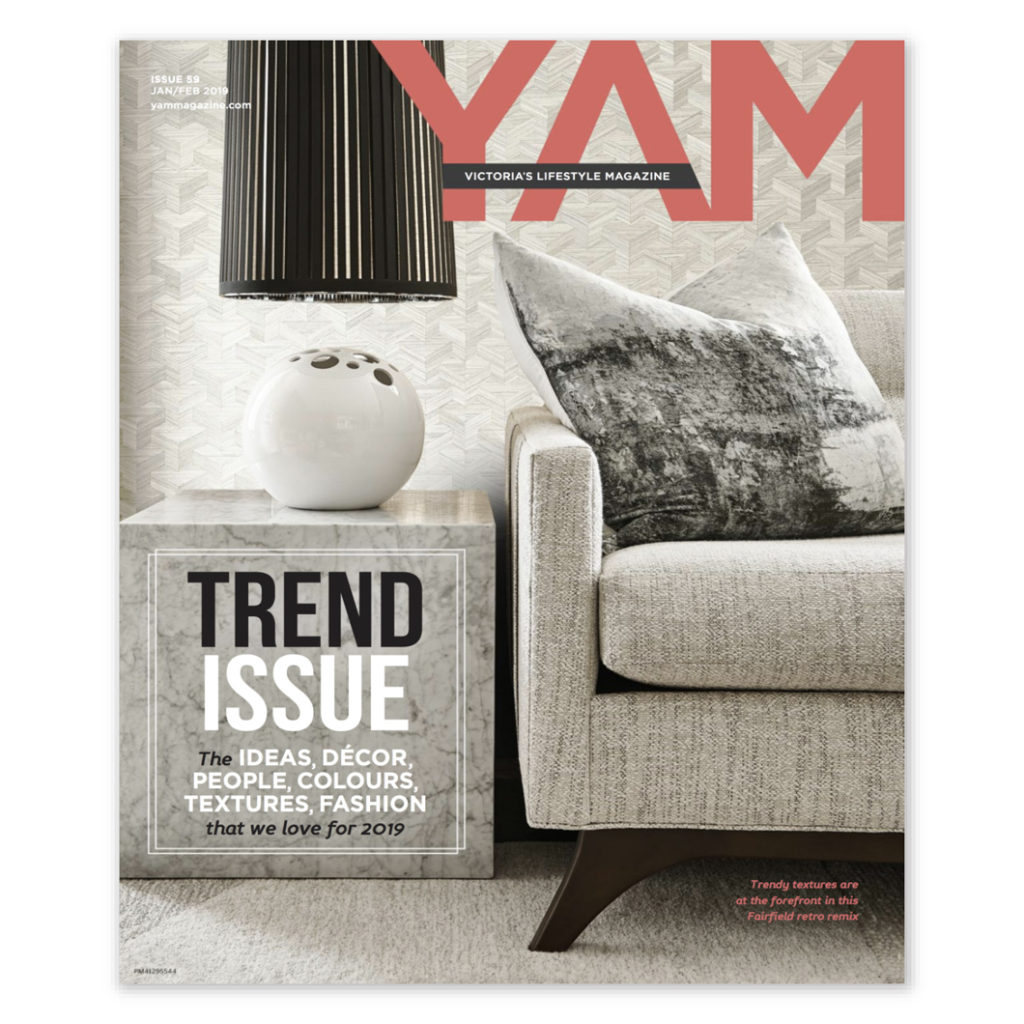 YAM Magazine Cover & Featured Article – Meade Design Group Interiors