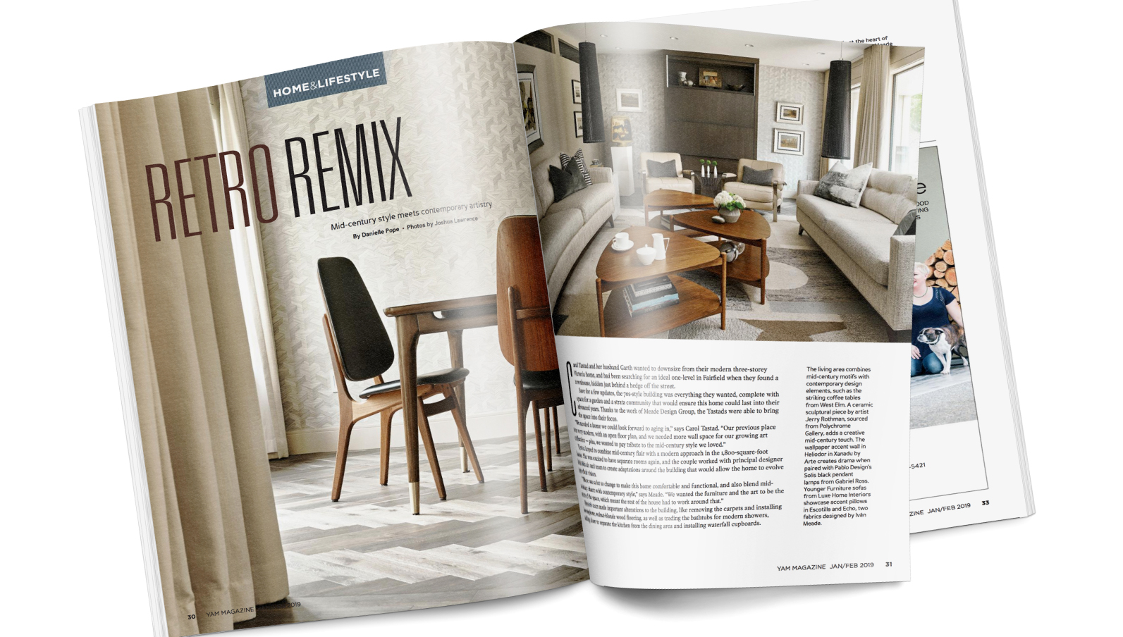 Meade Design Group Interior Design YAM Trend Issue
