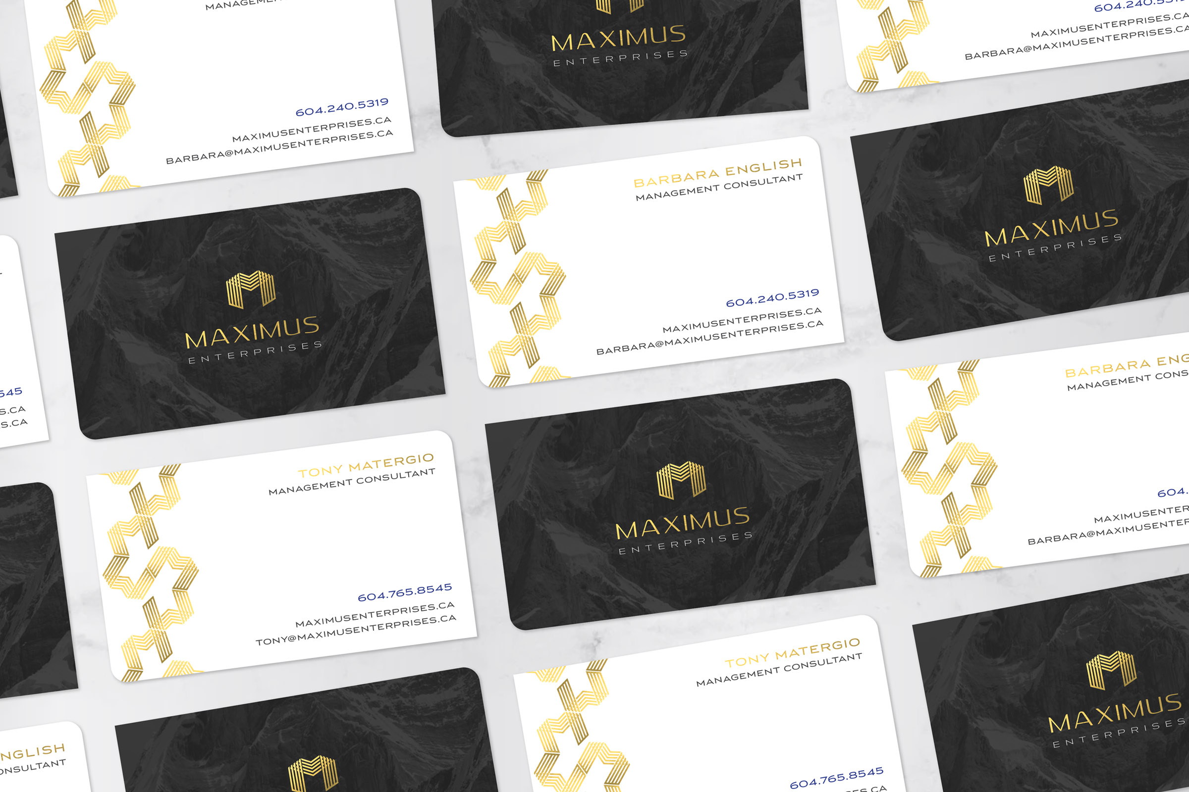 Business Card for Maximus