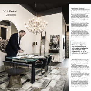 YAM Magazine Home Issue in Meade Design Group Studio