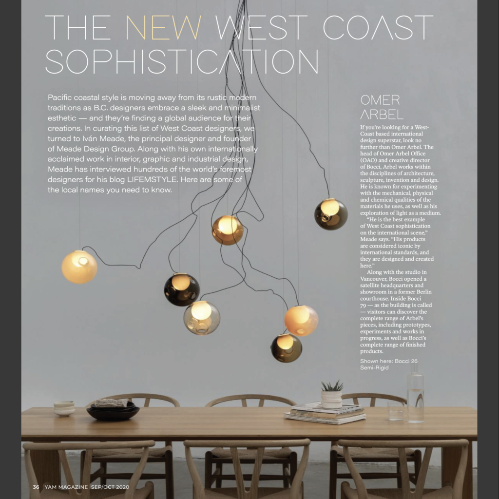 YAM Magazine Style Issue – The New West Coast Inspiration with Iván Meade