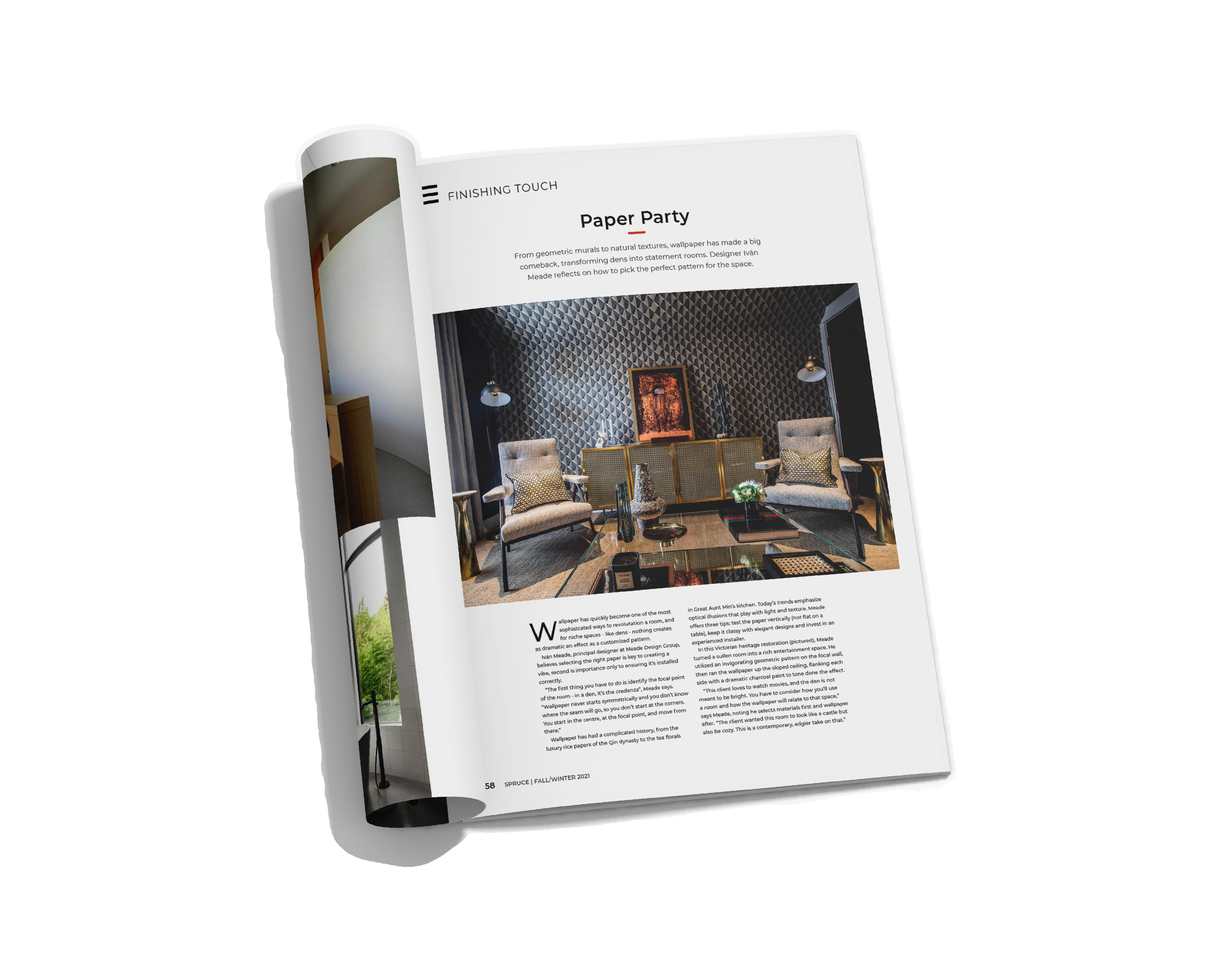 Meade Design Group Interior Design YAM Trend Issue